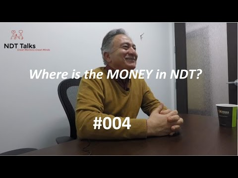 Where is the MONEY? As an NDT Level I and II technician? Or, as an NDE Engineer?