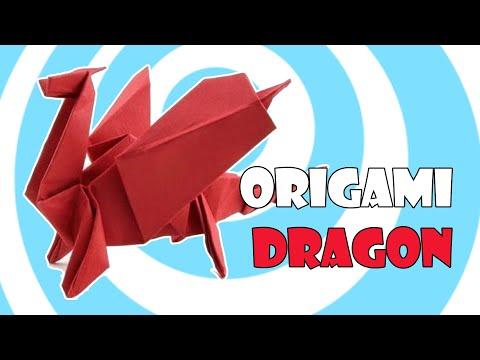 Οδηγίες για να φτιάξετε τον δικό σας δράκο οριγκάμι