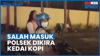 Viral Video 2 Perempuan Mengira Kantor Polisi di Pekalongan adalah Kafe, Ini Penjelasan Kapolsek