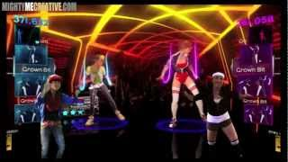 "Dance Central 2: ""Right Thurr"" 2 Players Gameplay - Riptide vs. Flash4ward"