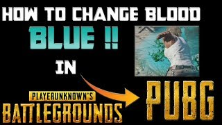 how to change blood color in pubg ps4 - ฟรีวิดีโอออนไลน์ - ดูทีวี