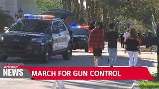 Florida school shooting survivors plan march on Washington to demand gun control measures