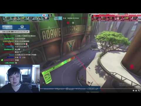 小鬼講解TGS東京電玩展 鬥陣特攻表演賽 DTN VS AHQ.S 《地圖:努巴尼 Numbani》