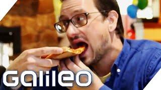 25 Jahre nur Pizza essen!? Wie (un)gesund ist das? | Galileo | ProSieben