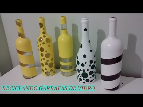 Garrafas Decoradas