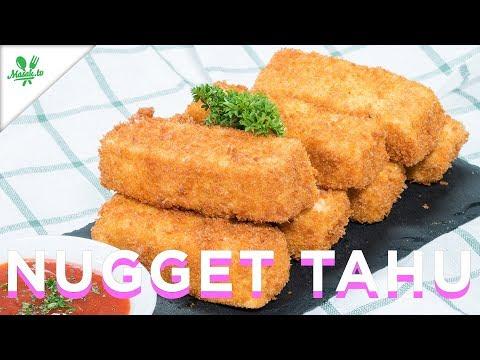 Tanpa Daging! Nugget Tahu Wortel Murah Meriah Mantab!