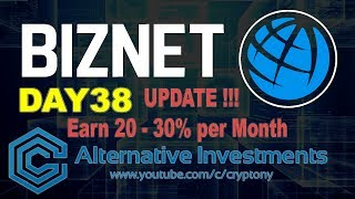 Biznet | Day #38 | Latest News | Long-Term 20-30% per Month | English | Cryptony