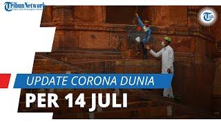 Update Corona Dunia 14 Juli 2021: Total 188,5 Juta Terinfeksi, Indonesia Naik ke Peringkat 15