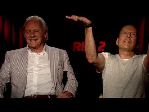 Video trailer för RED 2 Interviews: Bruce Willis, Anthony Hopkins and Helen Mirren