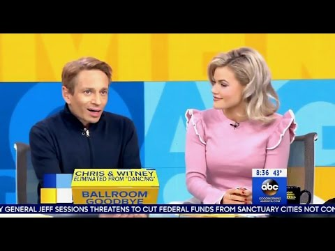 Chris & Witney DWTS Exit Interview - GMA
