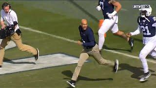 James Franklin (Keegan-Michael Key) Leads PSU Out of Tunnel   Big Ten Football