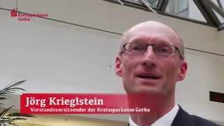 preview picture of video 'Kreissparkasse Gotha sieht auf positives Geschäftsjahr 2013 zurück!'