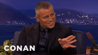 Matt LeBlanc: Brits Love The C-Word  - CONAN on TBS