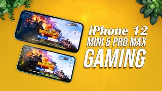 Apple iPhone 12 Mini & Apple iPhone 12 Pro Max Gaming - PubG Test