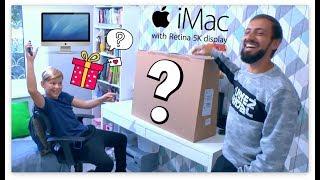 """ПРАНК: ПАПА КУПИЛ СЫНУ САМЫЙ ДОРОГОЙ АЙМАК / Apple iMac 27"""" Retina 5K Core i5 2 ТБ Fusion Drive"""
