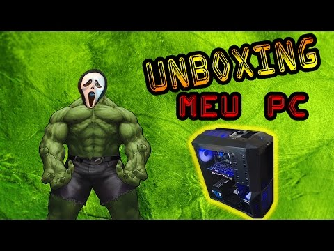 Unboxing PC GAMER Computador dos Meus Sonhos que Roda Tudo no ULTRA 4K GTX 980 ► Análise Informática