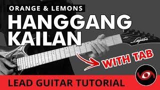 Hanggang Kailan - Orange and Lemons LEAD Guitar Tutorial