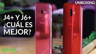 Galaxy J4+ y J6+, UNBOXING en México: Samsung amplia su gama media