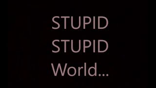 Talking kitty Stupid Stupid World - Lyrics