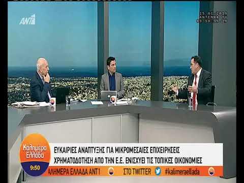 """Ο Επικεφ. Αντιπροσωπείας της ΕΕ στην Ελλάδα στην εκπομπή """"Καλημέρα Ελλάδα""""    ΑΝΤ1 TV   15/01/2019"""