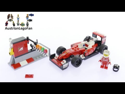 Vidéo LEGO Speed Champions 75879 : Scuderia Ferrari SF16-H