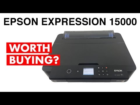 Epson Expression Photo HD XP 15000 Inkjet  Printer (FULL REVIEW)