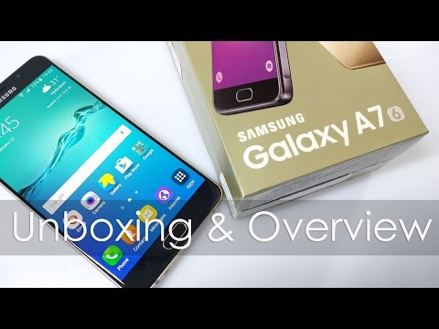 Samsung Galaxy A7 (2016 Model) Unboxing & Overview