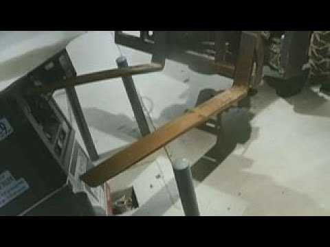 Thieves in Arkansas steal ATM using a forklift