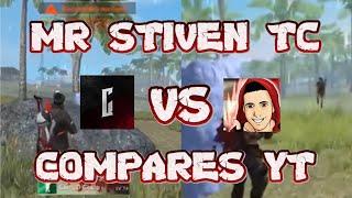 MR STIVEN VS COMPARES YT *PvP COMPLETO* ¿Quien Ganaría? || FREEFIRE