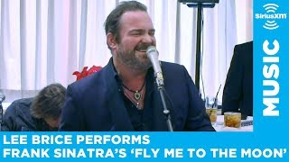 Lee Brice covers Frank Sinatra's 'Fly Me To The Moon' - Live at Patsy's in NYC