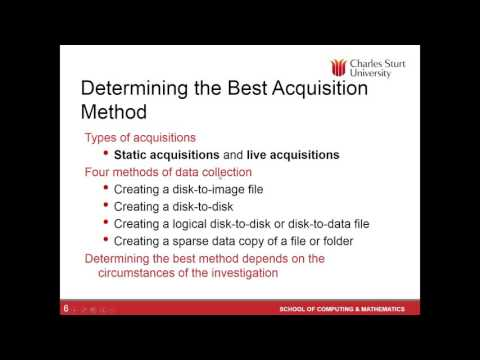 Lecture 2: Free Short Course - Digital Forensics - YouTube