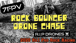 Rock Bouncer Drone Chase! 2020 Rd.1 Pro Rock Racing