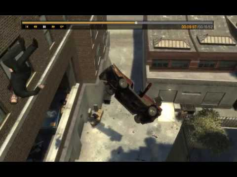 Grand Theft Auto 4: Amazing Crashes, Stunts And Random Funny Moments Ep 1