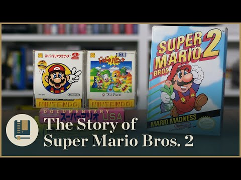 History of Super Mario 2&#59; design and rework