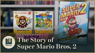 History of Super Mario 2; design and rework