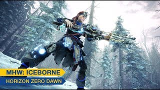 [Monster Hunter World: Iceborne] - Horizon Zero Dawn: The Frozen Wilds trailer - PS4, XBOX ONE