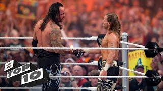 Emotional WrestleMania Moments   WWE Top 10