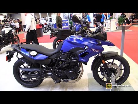 2015 BMW F700GS - Walkaround - 2015 Salon Moto de Montreal