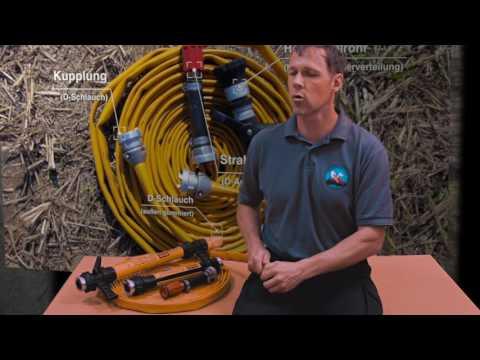 Film 3 Waldbrandausbildung Schläuche Netzmittel