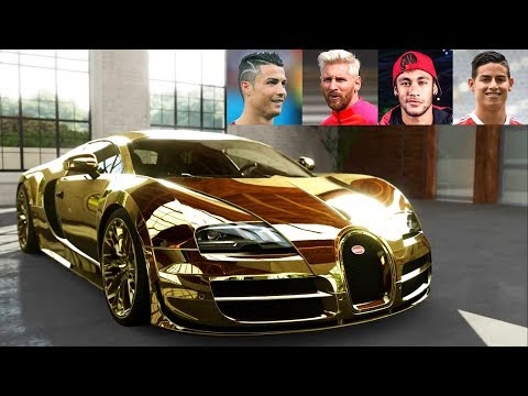 Top 10 Football Players Super Cars ★ 2018