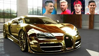 Top 10 Football Players Super Cars ★ 2019