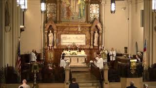 """""""Saviour, again to thy dear Name we raise"""" @ St. John's Detroit"""