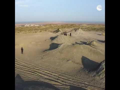 Космические пейзажи в Азербайджане