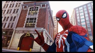 How to find the Ghostbusters Firehouse in the new Spider-Man game!