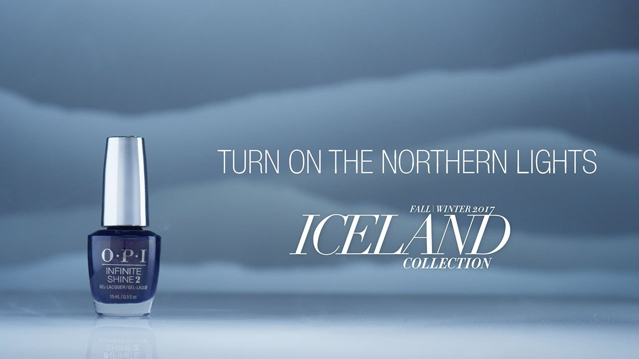 Video:OPI Iceland Shade Story | Turn on the Northern Lights