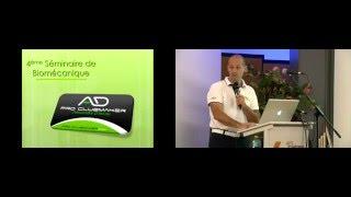 Biomécanique : Alexandre d'Incau parle matériel