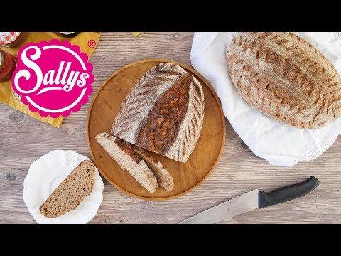 Weizenmischbrot selbst gemacht / Brot einfach selbst gemacht