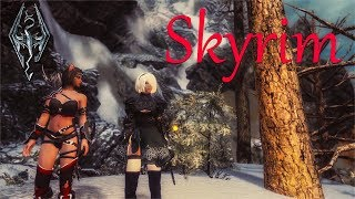 Skyrim [SLMP-GR] - Мрачные Подземелья.