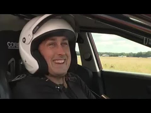 Ross Noble takes to the track | Top Gear | BBC
