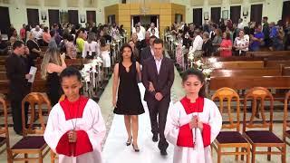 Canto de Entrada da Equipe de Liturgia - Casamento Comunitário Com Missa (26.10.2018)